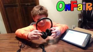 KID SIZE Bluetooth Headphones Autotain Cloud