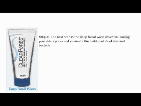 Clogged Pores Acne Aid Treatment   Clear Pores System