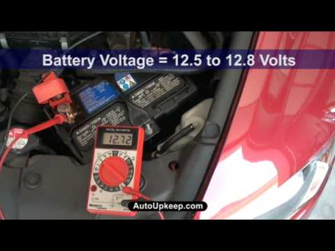 How to Test Alternator Voltage Output