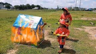 Trò Chơi Bé Anh Hùng ❤ ChiChi ToysReview TV ❤ Đồ Chơi Trẻ Em Baby Super Song