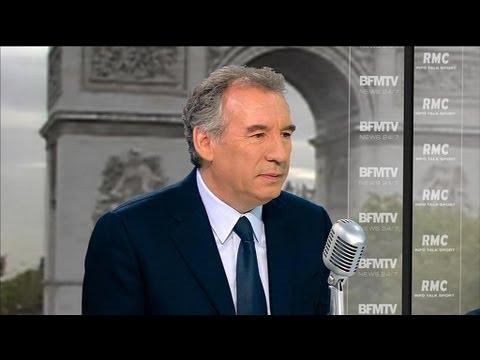 Pour François Bayrou, Hollande était sur la défensive lors de l'interview sur TF1 - 16/09