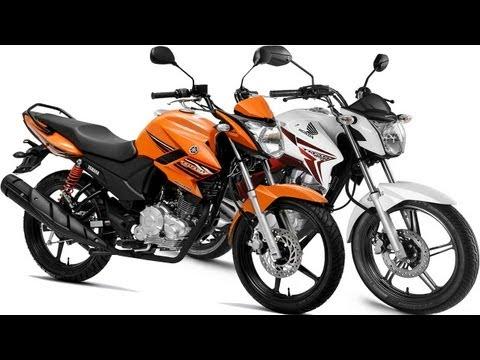 Design: Honda CG 150 Titan 2014 vs Yamaha YS150 Fazer 2014