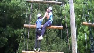 Jack and Alex climb Jacob's Ladder
