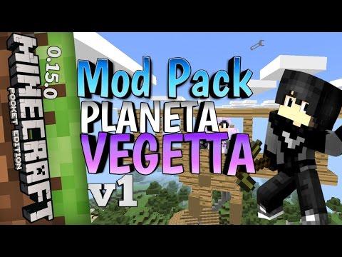 Pack De Mods De Planeta Vegetta 6_(11 Mods Parecidos A Los Que Usa!)_Para Minecraft Pe 1.0