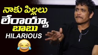 Nagarjuna Hilarious Reply to Midea Reporter about his Age | Devadas interview | Filmylooks
