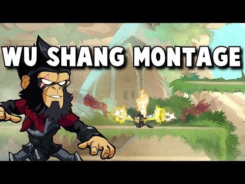 Brawlhalla Wu Shang Montage 2v2 & 1v1 - Guess Who's Back!