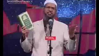 Dr. Zakir Naik recommends English translation of Qur'an