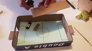 How To Make a Mini Table Football Soccer For The Kids / Football-themed / Foosball / Baby Foot