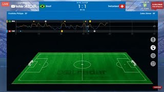 Half Time Results Brazil 1 : 1 Switzerland | BRAZIL vs SWITZERLAND FIFA Worldcup Exciting Moment
