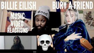 MUSIC VIDEO REACTION // Billie Eilish - bury a friend