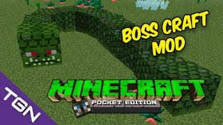 MINECRAFT POCKET EDITION 0.14.0 - BOSSCRAFT MOD - ESPAÑOL