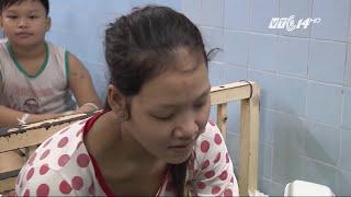 (VTC14)_Mẹ đẻ và bố dượng bạo hành, bé 4 tuổi gãy xương đùi
