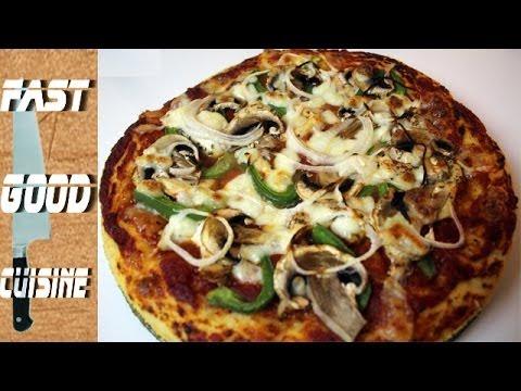 Comment faire une Pizza Hut | FastGoodCuisine