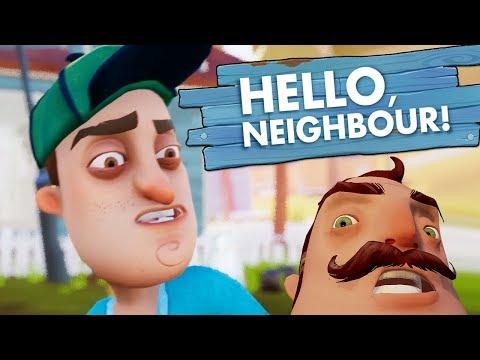 Hello Neighbor ВЫШЛА ПОЛНАЯ ВЕРСИЯ - ПРОХОДИМ НА ВЕБКУ