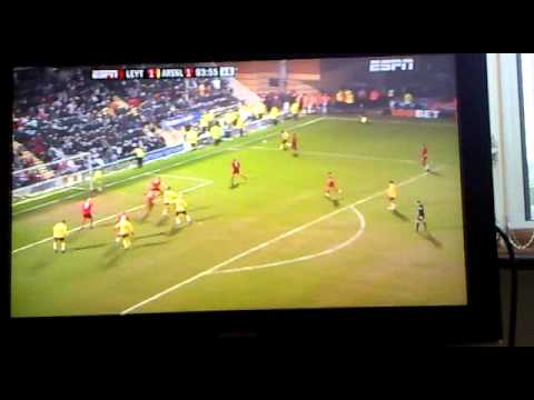 Tehoue - Last Minute Goal Leyton Orient vs Arsenal - FA CUP 5th Round 2011