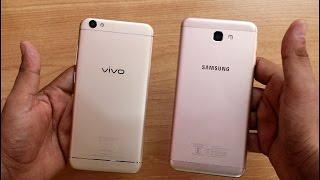 Vivo V5 Vs Samsung Galaxy J7 Prime Detail Comparison II Hindi