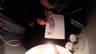 iDraw: How to draw a Bugatti Type 30