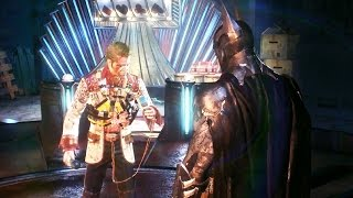 Batman Arkham Knight: Johnny Charisma Boss Fight (4K 60fps)