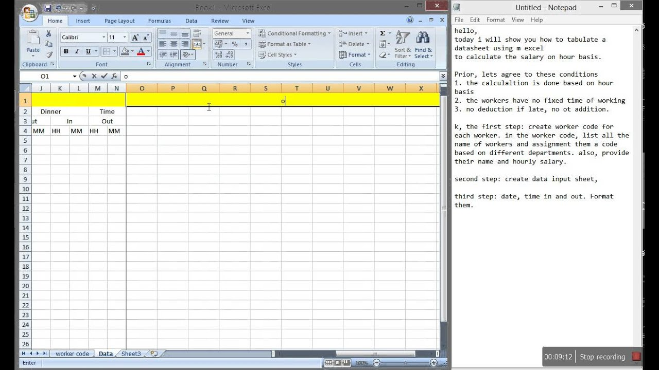 Excel Payroll Calculator Template