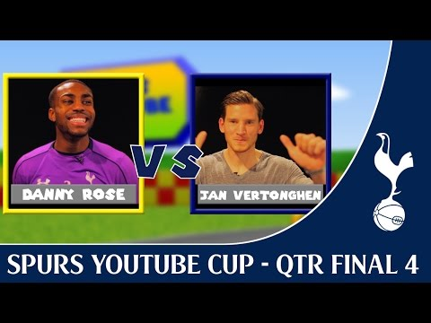 Spurs YouTube Cup ! 4th Qtr Final - Danny Rose vs Jan Vertonghen ! Spurs TV !