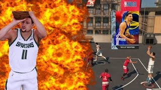 97 DIAMOND KLAY THOMPSON! OMG HE ISN'T MISSING ANYTHING! NBA 2k16 MyTeam Gauntlet Mode Gameplay