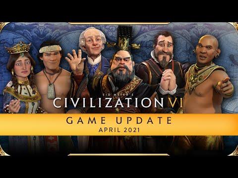 Civilization VI Spiel-Update - April 2021
