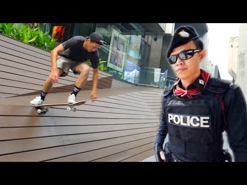 AMAZINGLY ILLEGAL SKATE SPOT IN THAILAND!!!