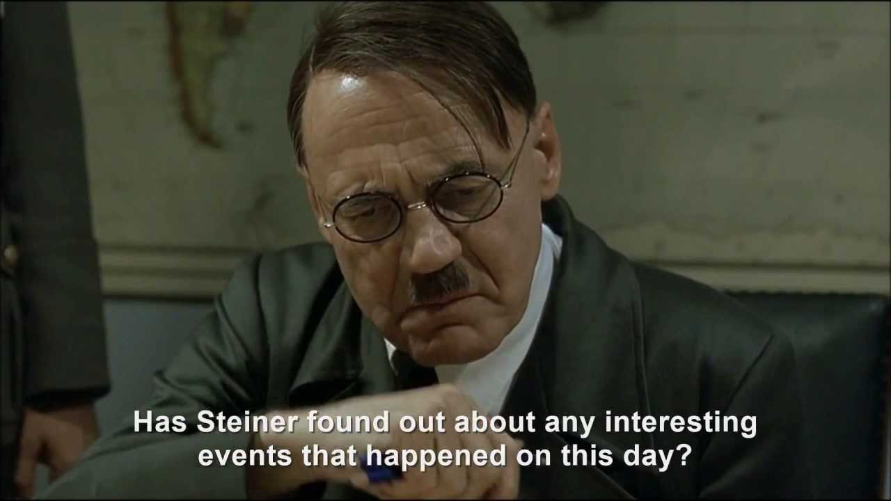 Hitler finds out he's dead