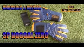SP NOGOAL ZERO - El guante mas RADICAL de SP - Unboxing Review