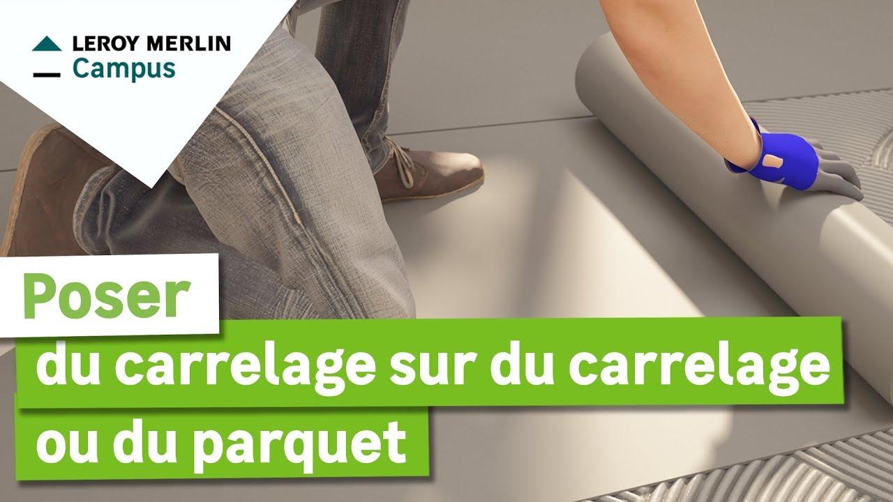 Carrelage Qui Se Colle Fissure Carrelage Pose Carrelage Sur  ~ Comment Faire Pour Coller Du Carrelage Sur Du Boi