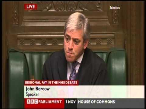 Speaker John Bercow - how not to be Speaker