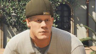 WWE Superstar John Cena in da GTA V . Chain gang is back.