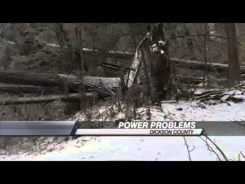 Thousands Still Without Power In Dickson County
