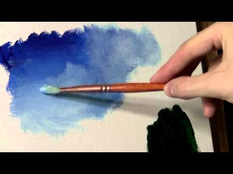Blending and Scumbling - Acrylic Painting Lesson