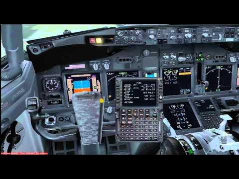 TUTORIAL BOEING 737 PMDG FSX ESPAÑOL  PARTE 1 PROGRAMAR FMC Y PUSHBACK