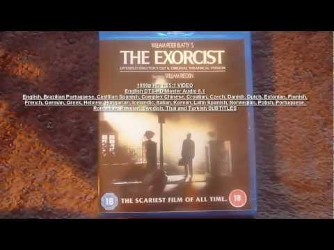 The Exorcist Blu Ray 2 Disc Extended Directors Cut + Theatrical Cut UK