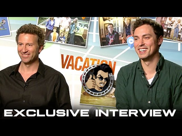 John Francis Daley and Jonathan M. Goldstein Interview - Vacation (HD) 2015