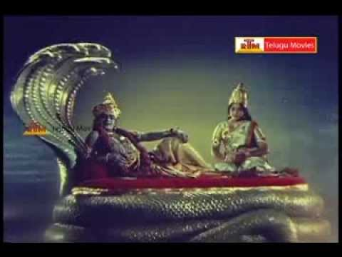 Bhaktha Prahlada Telugu Movie Part -1(s V Ranga Rao,  Anjali Devi,  Roja Ramani) video