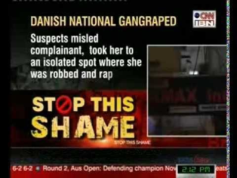 Danish woman 'gang-raped' in Indian capital Delhi