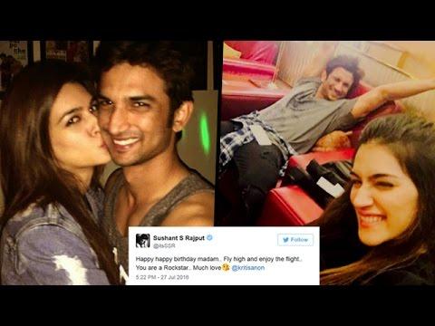 Sushant Singh Rajput HINTS on Relation With Kriti Sanon