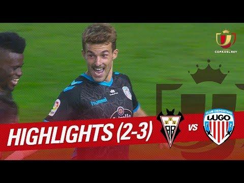 Resumen de Albacete BP vs CD Lugo (2-3)