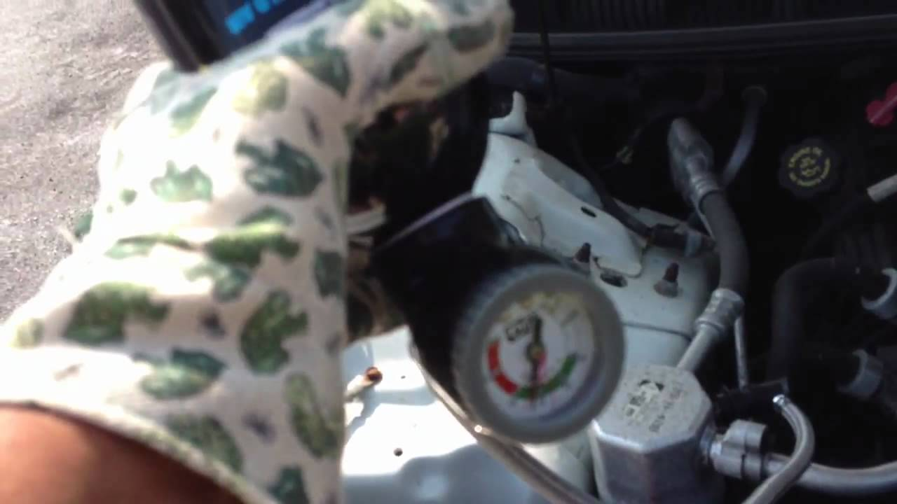 How To Re Charge Freon In Pontiac Firebird Youtube