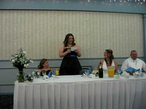 Wedding Toast to My Little Sister Video