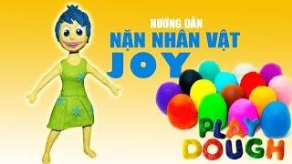 Đồ Chơi Trẻ Em - Hướng dẫn bé làm cô hề Joy dễ thương bằng đất sét - Đồ chơi em bé  #Namviet Kids