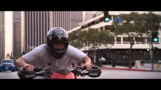 Yes Man Ducati Hypermotard Scene