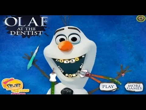 Watch Elsa Frozen Movie Game Olaf At The Dentist Disney Full full