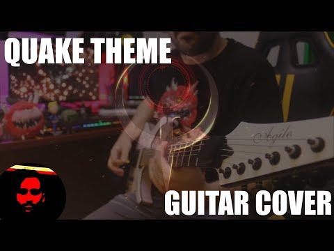 QUAKE THEME [Guitar Cover Playalong]