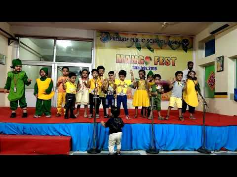 A beautiful Song by Prelude Students on Mango Fest - 2019