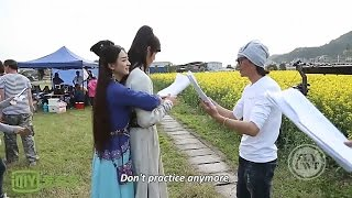 [Eng Sub] [BTS] Zhao Li Ying & William Chan - Backhug Cut