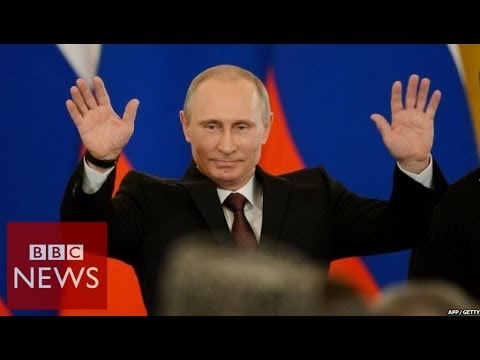 Khrushcheva 'Putin aims to bring back Russian glory' - BBC News